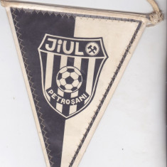 Fanion fotbal Jiul Petrosani