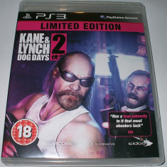 KANE & LYNCH 2 - DOG DAYS - ORIGINAL - PS3 - PLAYSTATION 3 - Jocuri PS3 Codemasters, Actiune, 18+