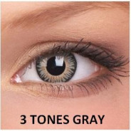 123123Lentile de contact colorate gri 3 Tones Gray.