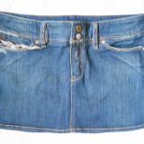 Fusta blugi jeans ruginiu DIESEL - noua! S frumos model!!