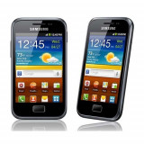 Samsung Galaxy Ace Plus (GT-S7500), Negru, Neblocat, 5 MP