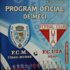 FCM Tg.Mures-UTA (08.05.2013) - Program meci