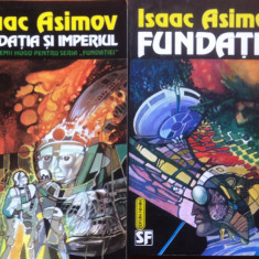 FUNDATIA + FUNDATIA SI IMPERIUL - Isaac Asimov - Roman, Nemira, Anul publicarii: 1993