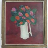 Ioan Pacea - Cana cu flori - Pictor roman, Natura moarta, Realism