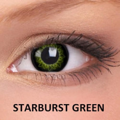 Lentile de contact colorate Verzi. Starburst Green.