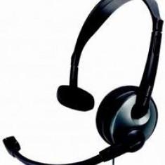 Casti Philips Corded Style SHM2000 cu microfon (177) - Casca PC, Casti cu microfon, Analog