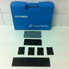 Set Pansoane 5 mm Cifre, Litere, Semne Made in Franta