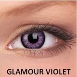 Lentile de contact colorate Glamour Violet.