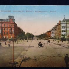 Budapesta - Andrassystrasse - Rundau - Vedere circulata -