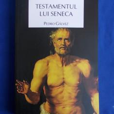 PEDRO GALVEZ - TESTAMENTUL LUI SENECA [ ROMAN ISTORIC ] - BUCURESTI - 2009 *