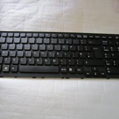 TASTATURA Sony Vaio VPCEE VPC-EE VPE-EE PCG-61511L PCG-61611L SERIES CU RAMA, NOUA - 148927121 148915731 - Tastatura laptop