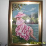 Fata la malul marii - Goblen