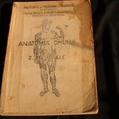 ANATOMIA OMULUI-VOL2- MEMBRELE-RANGA- P.ZAHARNITA-ISPAS-CATREDA DE ANATOMIE-