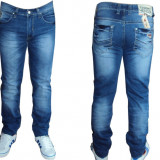 Pantaloni / Blugi TOMMY HILFIGER Model Nou 2657 de Sezon !!! - Blugi barbati, Marime: 31, Culoare: Albastru, Lungi, Slim Fit
