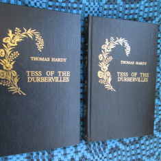 Thomas HARDY - TESS OF THE D'URBERVILLES (2 vol., EDITIE DE LUX, in limba ENGLEZA, 1995 - in stare impecabila!!!) - Carte de lux