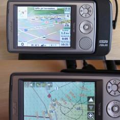 PDA GPS Asus A636N, cu iGO, cu navigatii turistice... - PDA Asus