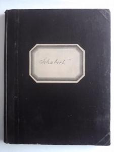 Partitura muzicala - Franz Schubert (veche) / R7P5F