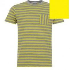 Tricou Lee Cooper Neon Stripe pentru Barbati original reducere - Tricou barbati, Marime: S, Maneca scurta