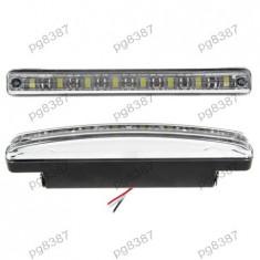 Lumini de zi auto, 8 LED - 400379 - DRL