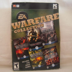 Vand joc PC-Warfare Collection, original, vine pe 8 cd - Jocuri PC Electronic Arts, Shooting, 18+, Single player