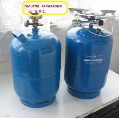 Butelie voiaj de 5 Litri + ARZATOR  NU necesita REDUCTIE de reincarcare