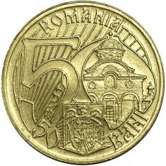 ROMANIA, 50 BANI 2011, UNC * cod 4 - Moneda Romania, Alama