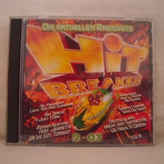 Vand CD-dublu-Hit Breaker vol 2-2003, original - Muzica Pop sony music