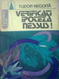 Tudor Negoita - Verificati ipoteza Nessus!, Alta editura