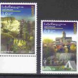 GEORGIA 2007, EUROPA CEPT, serie neuzată, MNH