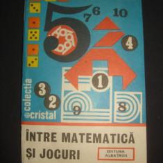 GHEORGHE PAUN - INTRE MATEMATICA SI JOCURI  {1986}