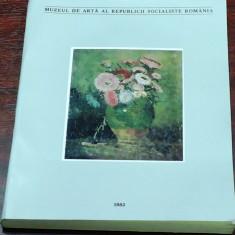MUZEUL DE ARTA AL REPUBLICII SOCIALISTE ROMANIA, 1983 (unv 344) - Carte Arta muzicala