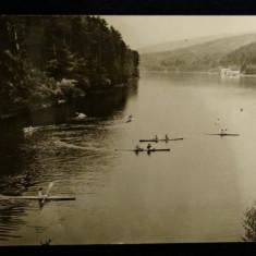 Valiug-Lacul de acumulare-Vedere circulata 1966-stampile Timisoara, Valiug-Banat - Carte Postala Banat dupa 1918
