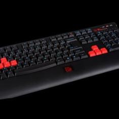 Tastatura (keyboard) Thermaltake eSPORTS Knucker - Tastatura PC Thermaltake, Gaming, Cu fir, USB