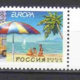 RUSIA 2004, EUROPA CEPT, serie neuzata, MNH