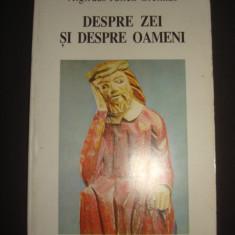 ALGIRDAS JULIEN GREIMAS - DESPRE ZEI SI DESPRE OAMENI {1997} - Carte paranormal