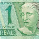 BRAZILIA 1 REAL 1997 UNC, America Centrala si de Sud