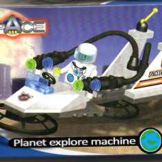 Masina spatiala de explorare, 46 piese, jucarie constructiva, ZHI LING 3012 - Jocuri Seturi constructie