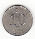 Turcia 10 yeni  kurus 2007