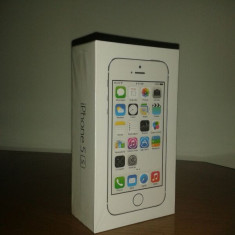 iPhone 5S Apple, 16GB, Silver, Argintiu, Neblocat