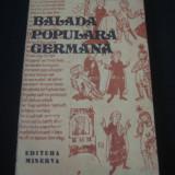 IONEL MARINESCU - BALADA POPULARA GERMANA {1979} - Roman