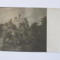 FOTOGRAFIE GRANICERI REGALISTI DIN ANII 30 - Fotografie veche