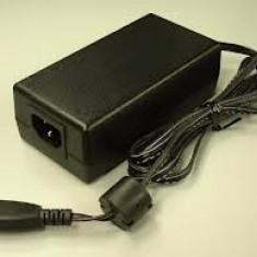 Alimentator imprimanta mufa gri, cablu de alimentare