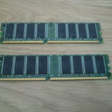 Memorie calculator ram ddr 512MB pc3200 400mhz ddr1 pc2700 333mhz pc2100 266mhz, 512 MB, Dual channel, Kingmax