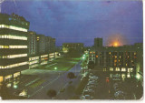 CPI (B4196) PITESTI. VEDERE DIN CENTRU, EDITURA OSETCM, CIRCULATA, 1977, STAMPILA, TIMBRU