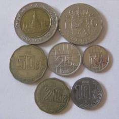 LOT 7 MONEDE STRAINE, Asia, An: 2000, Cupru-Nichel