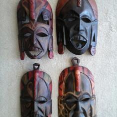Colectie MASTI din lemn sculptat (KENIA) - Masca carnaval