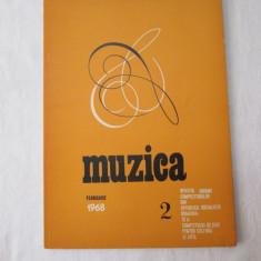 Revista Muzica 1968, nr. 2, reviste culturale vechi - Revista culturale
