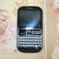 Vodafone 655 chat - Telefon mobil Vodafone, Negru, <1GB, Fara procesor, Nu se aplica