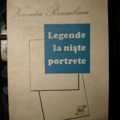 LEGENDE LA NISTE PORTRETE --- VERONICA PORUMBACU