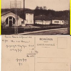 Ramnicu Valcea- Uzina electrica - Carte Postala Muntenia 1904-1918, Circulata, Printata